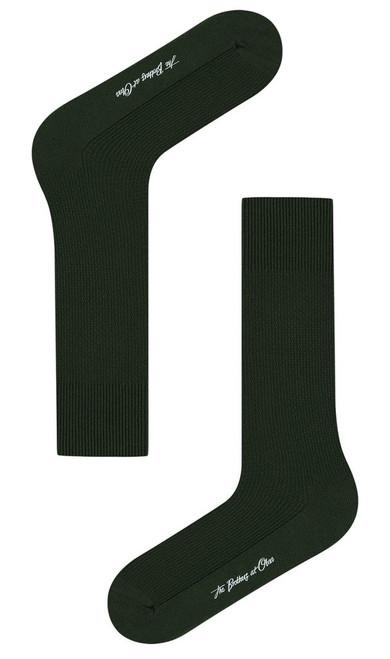OTAA - Crocodile Green Textured Socks