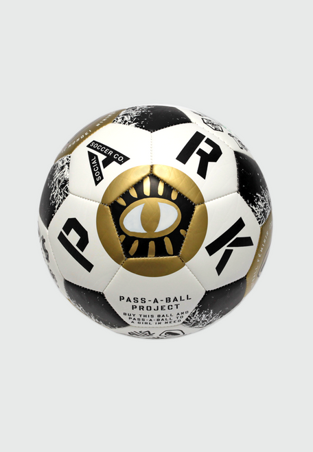 PARK - Limited Edition Gold Le Feminin Soccer Ball (for adults) - Size 5