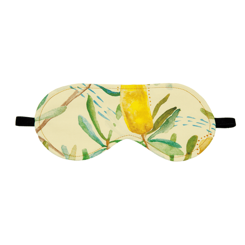 WHEATBAGS LOVE - Eye Mask ( weighted)  Wattle
