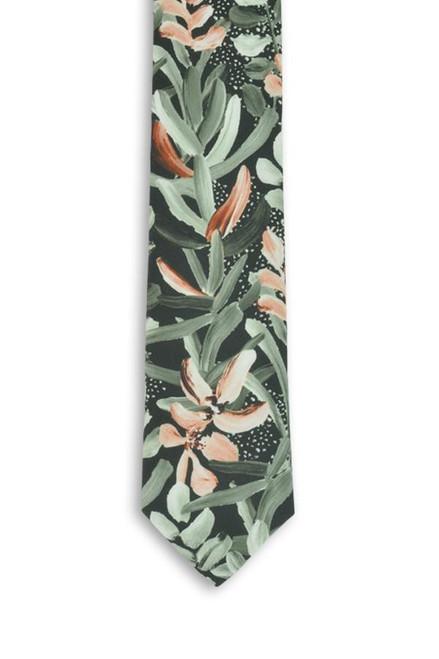 PEGGY AND FINN - COTTON TIE - Protea Green