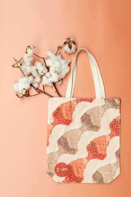 PEGGY AND FINN - Physical Present Tote Bag (Peggy and Finn x Sar.ra Collection)