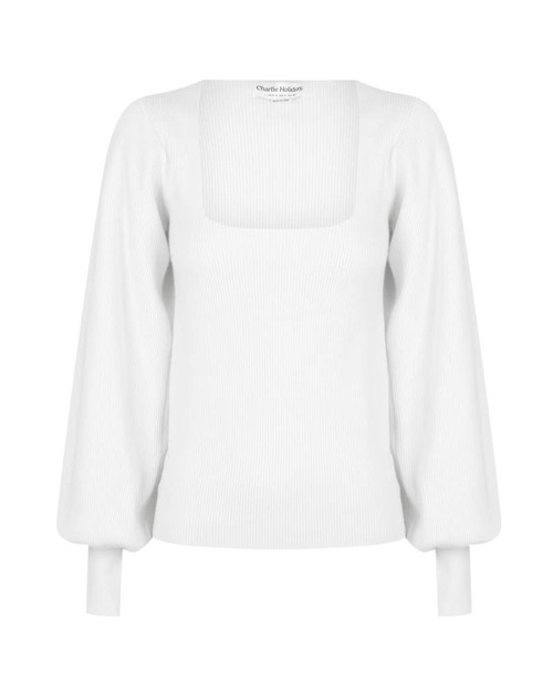 CHARLIE HOLIDAY - Benni Knit in White