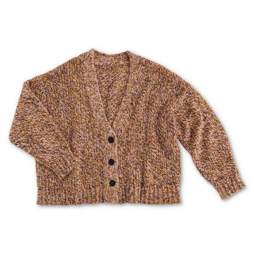 KIP & CO - Dusk til Dawn Melange Knitted Cardigan