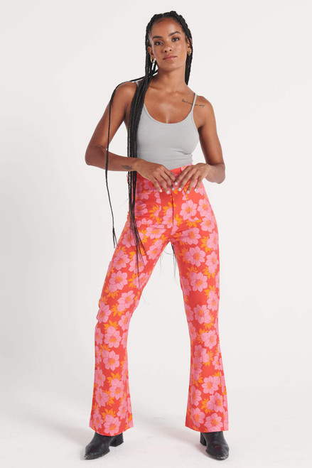 ROLLAS - Dusters Bootcut - Datura Bootcut Pant Pink Cordial