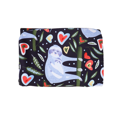JELLYSTONE - 2 in 1 Nappy Change Mat and Clutch - Sloth