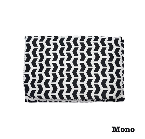 JELLYSTONE - 2 in 1 Nappy Change Mat and Clutch - Mono