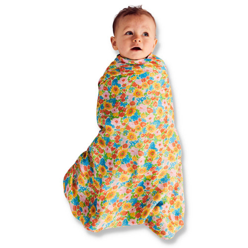 KIP & CO - Bamboo Swaddle - Spring Pollen