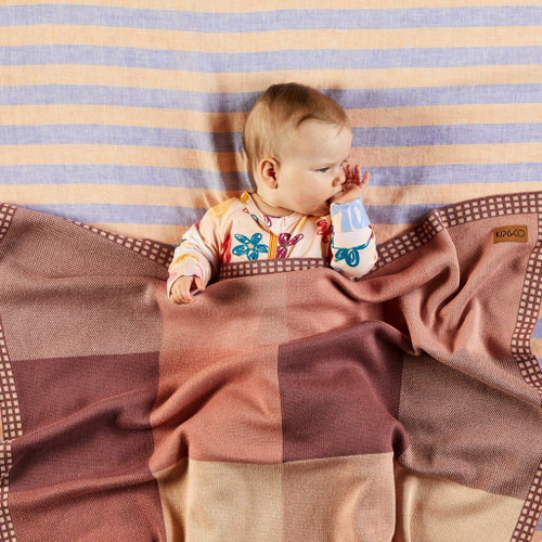 KIP & CO - Baby Blanket - Terracotta