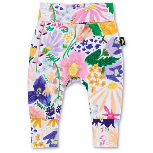 KIP & CO - Meadow Colourful Organic Drop Crotch Pant