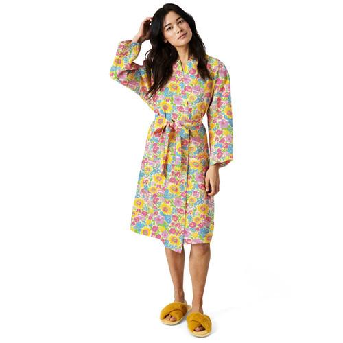 KIP & CO - Summer Pollen Linen Robe