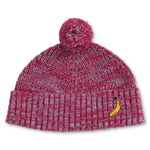 KIP & CO - Very Berry Speckled Knitted Beanie