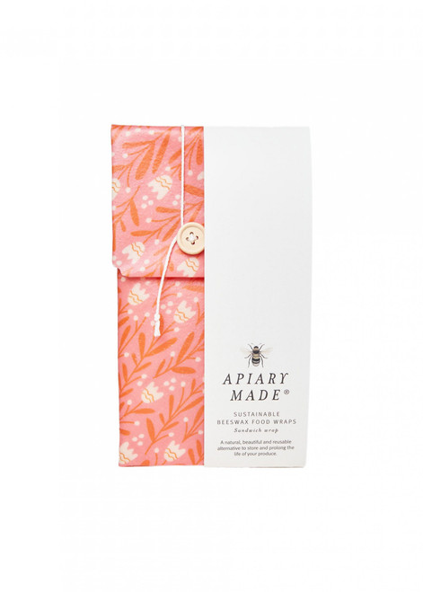 APIARY MADE - Sustainable Beeswax Food Wraps - Sandwich Wrap