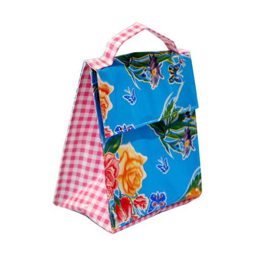 BEN ELKE - Blue Butterfly Insulated Lunch Bag