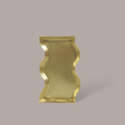 BLACK BLAZE - Wave Brass Candle Tray