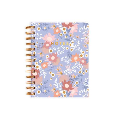 FOX AND FALLOW - Floribunda Spiral Notebook