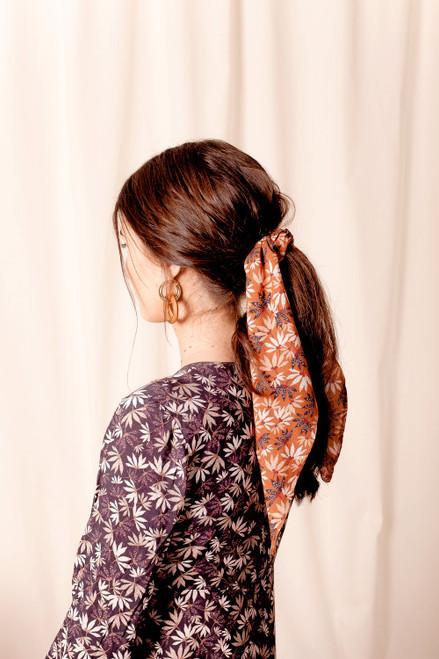 FOX AND FALLOW - Arcadia Rust Hair Tie