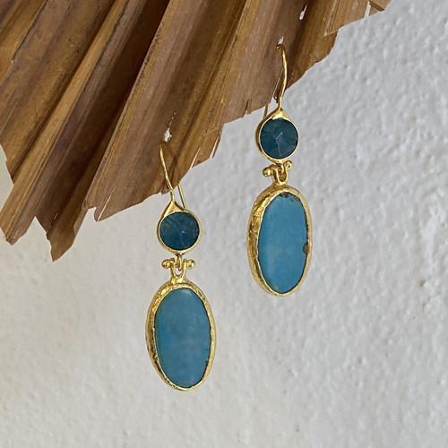 INARTISAN - Rita Drop Earrings