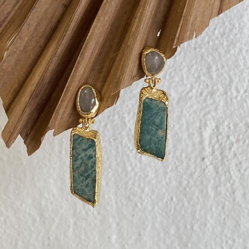 INARTISAN - Nika Drop Earrings