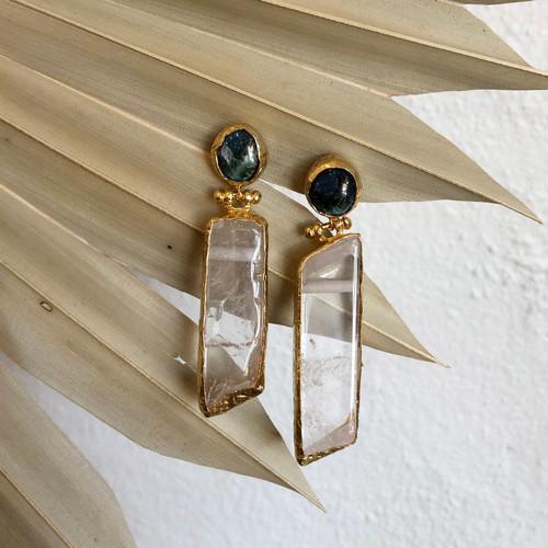 INARTISAN - Kora Drop Earrings