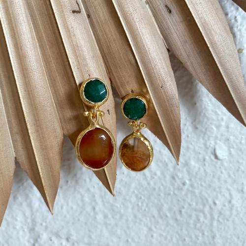 INARTISAN - Serap Drop Earrings