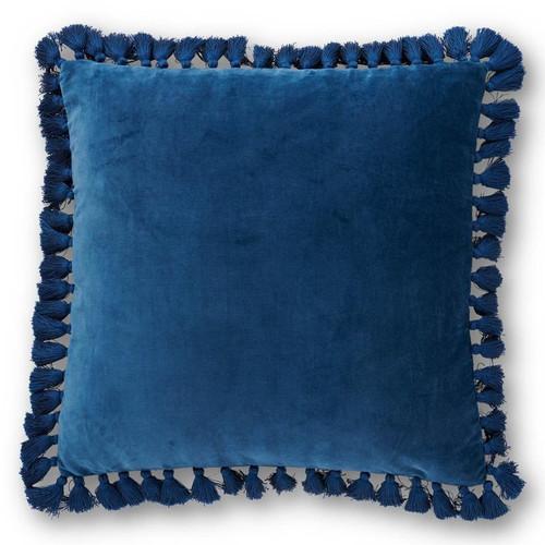 KIP & CO - Sailor Blue Velvet Tassel Cushion