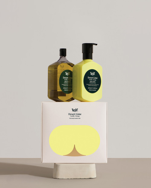 LEIF - Desert Lime Body Double Pack