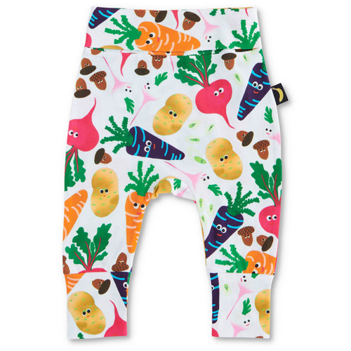 KIP & CO - Veggie Patch Organic Drop Crotch Pant