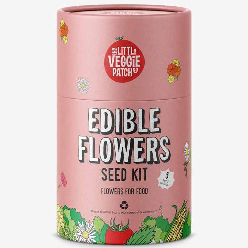 LITTLE VEGGIE PATCH CO. - Edible Flowers Seed Kit