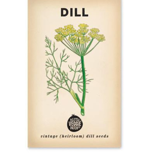LITTLE VEGGIE PATCH CO. - DILL 'COMMON' HEIRLOOM SEEDS