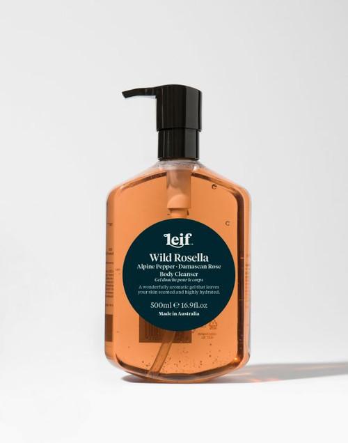 Leif Body Cleanser - Wild Rosella & Alpine Pepper 500ml