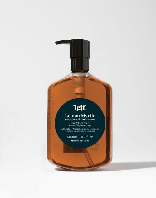 Leif Body Cleanser - Lemon Myrtle, Sandalwood & Eucalyptus 500ml