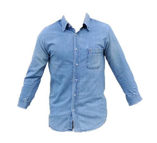 Vintage Denim Shirt -Sillarian