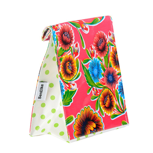 BEN ELKE - Pink Sweet Flower Lunch Bag