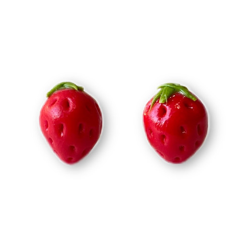 KATE AND ROSE - Strawberry Earrings