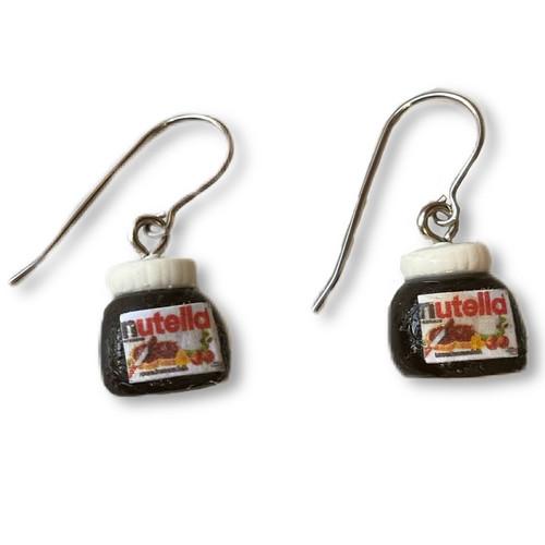 KATE AND ROSE - Nutella Jar Earrings