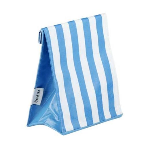 BEN ELKE - Blue Stripe Lunch Bag