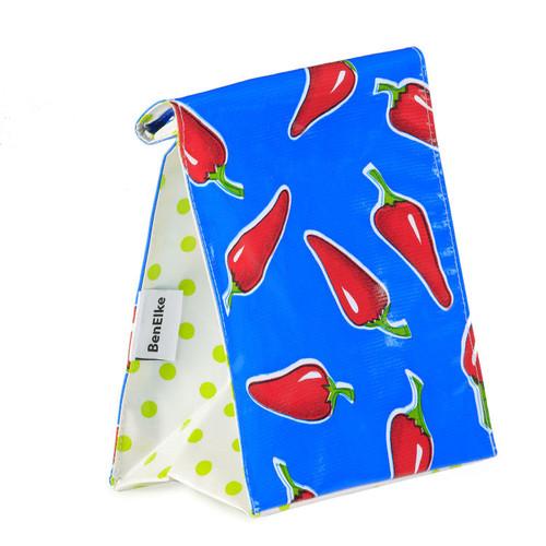BEN ELKE - Blue ChilliesLunch Bag