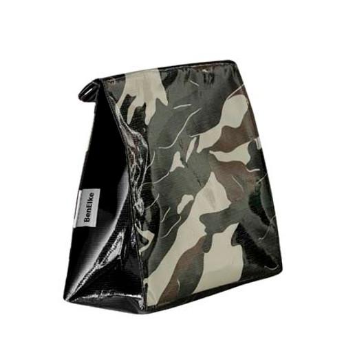BEN ELKE - Green Camo Lunch Bag