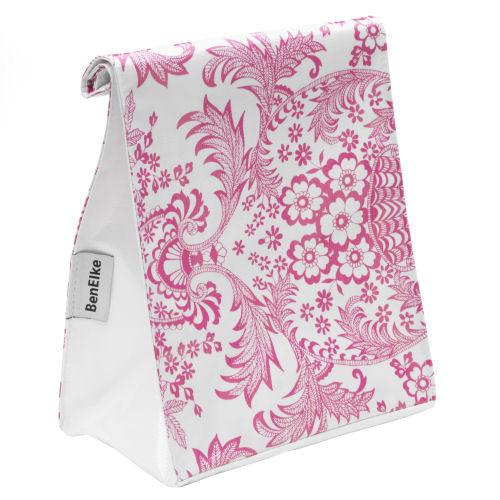 BEN ELKE - Pink Eden Lunch Bag