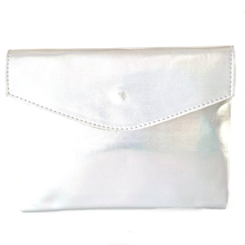 Golden Ponies Accessories - Envelope Clutch in Holographic