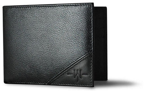 WHITELEY - Oxford Scholar Black Wallet