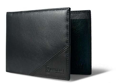 WHITELEY - Traveller Black Travel Wallet