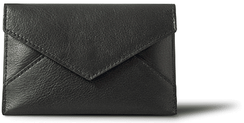 WHITELEY - Postie Black Wallet