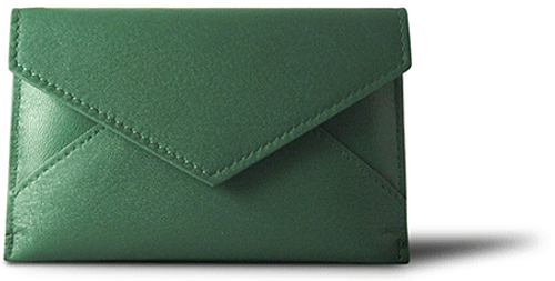 WHITELEY - Postie Green Wallet