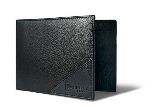 WHITELEY - Traveller Black & Grey Travel Wallet