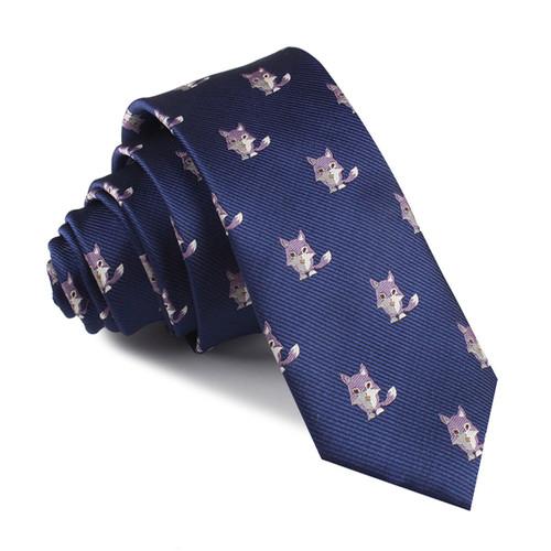 OTAA Bengal Wolf Skinny Tie