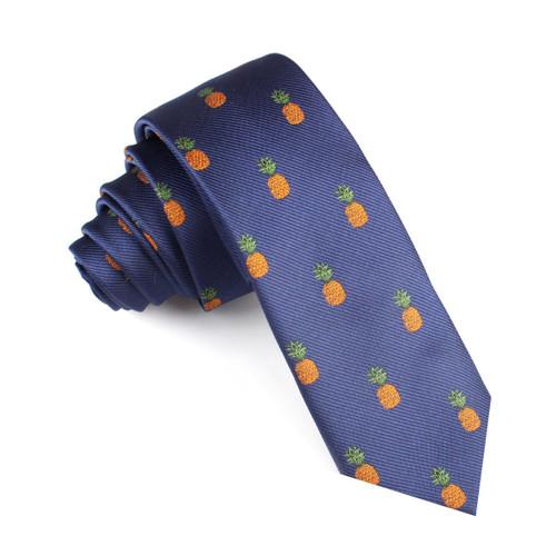 OTAA Pineapple Skinny Tie