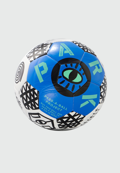 PARK - Blue Soccer Ball (for adults) - Size 5