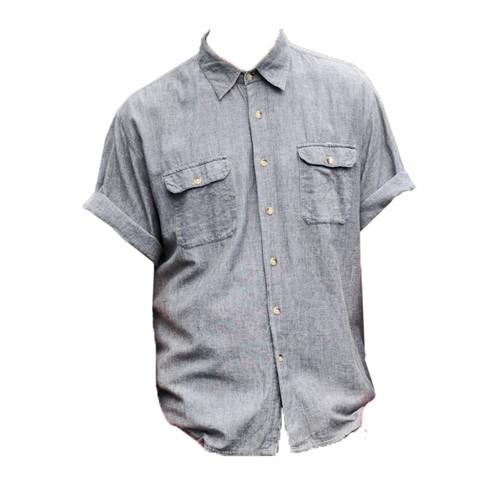 Vintage Grey Cotton Shirt