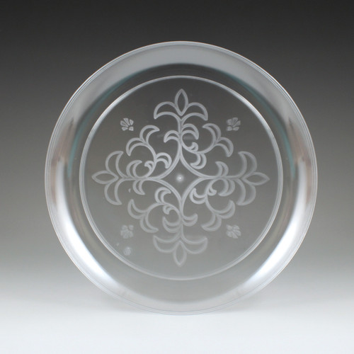 """6.25"""" Sovereign Etched Plate"""